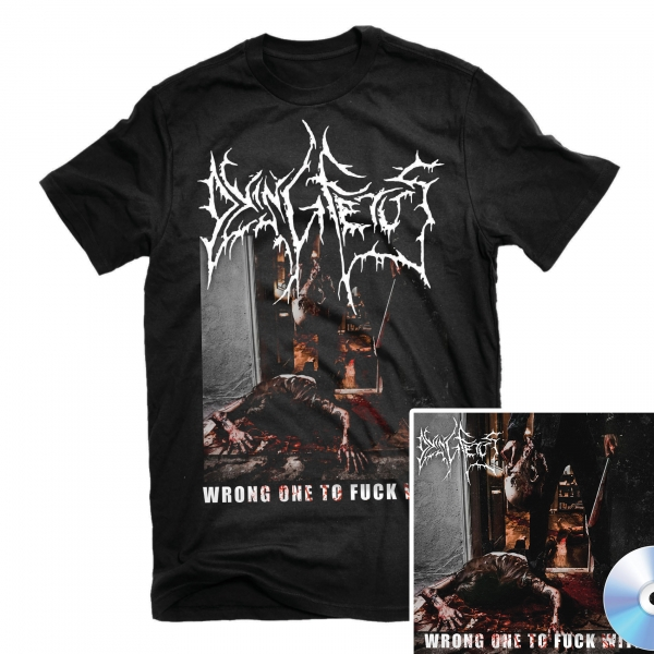Wrong One To Fuck With T Shirt + CD Bundle