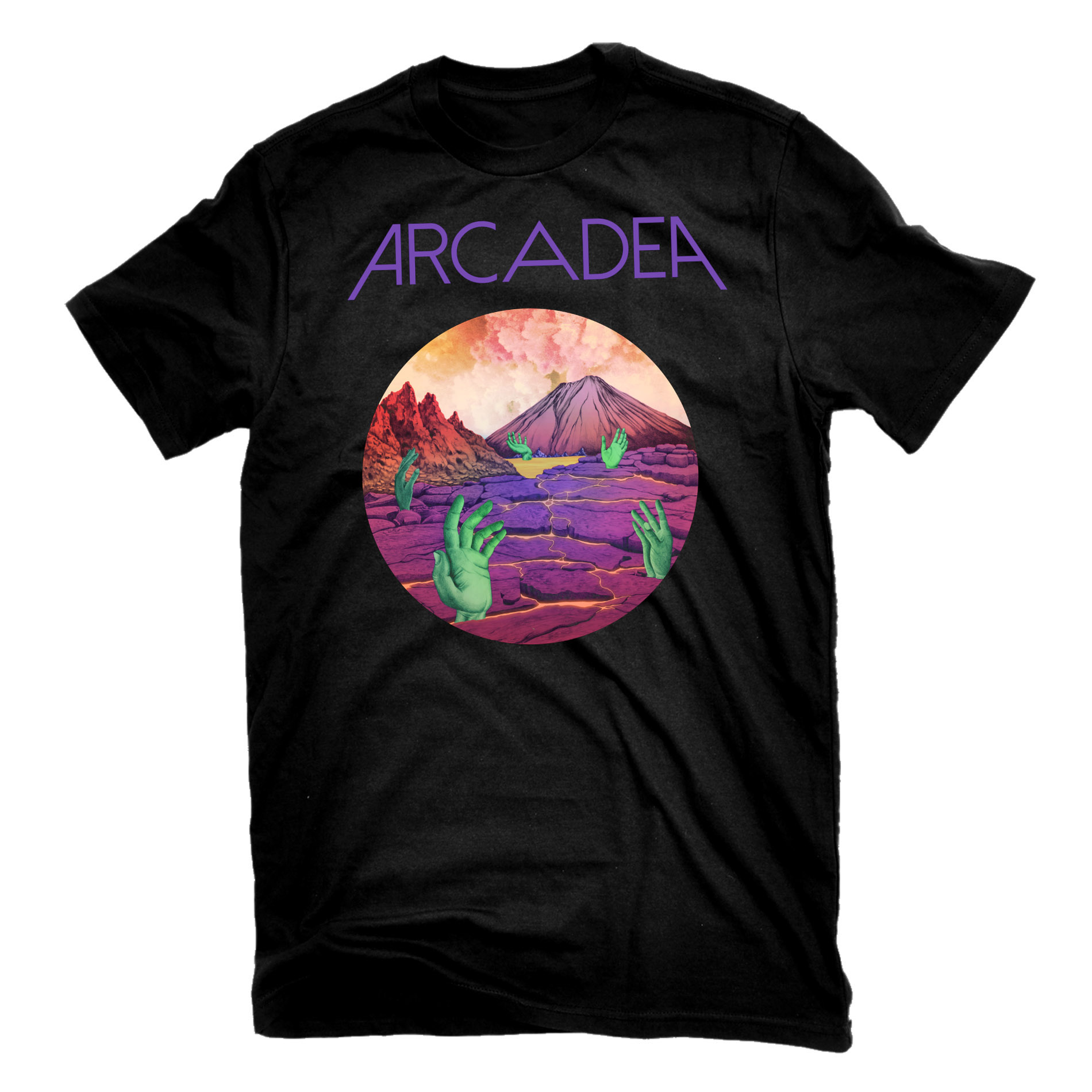 Arcadea T Shirt + CD Bundle