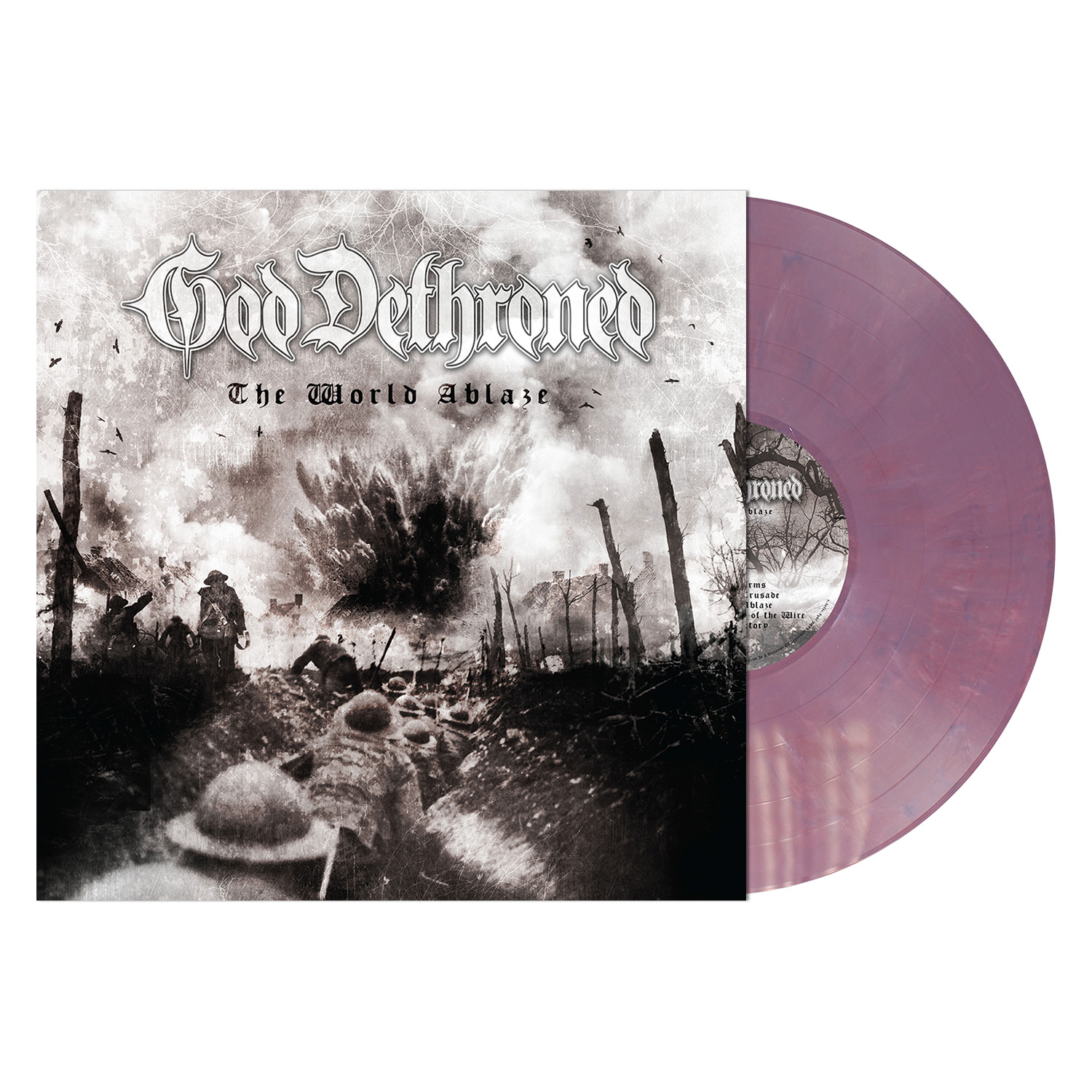 The World Ablaze - LP Bundle - Violet