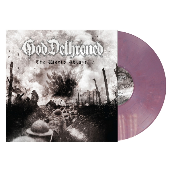 The World Ablaze (Violet Vinyl)