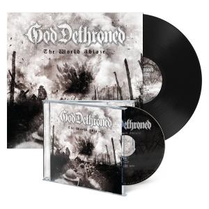 Pre-Order: The World Ablaze - CD/LP Bundle - Black