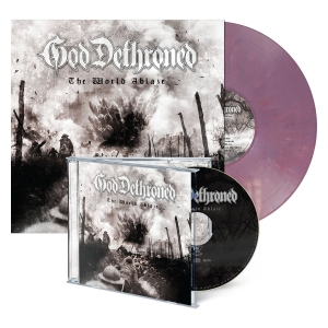 The World Ablaze - CD/LP Bundle - Violet