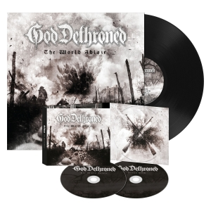 The World Ablaze - Digipak/LP Bundle - Black