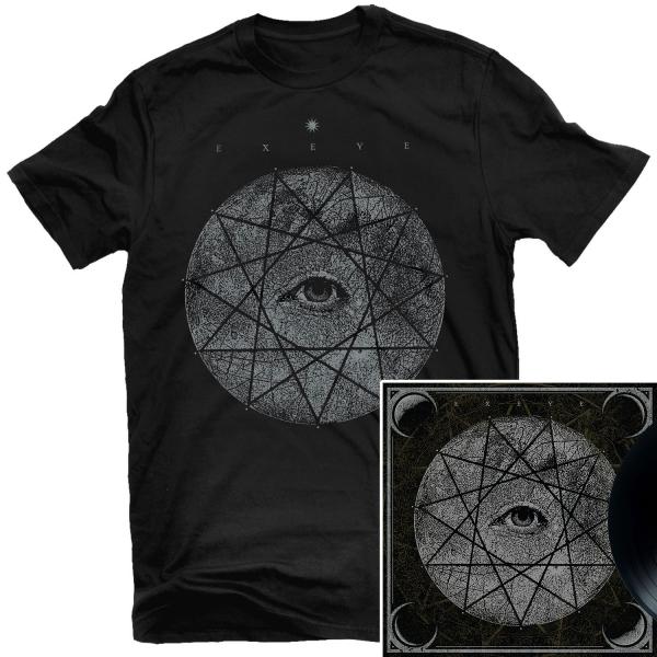 Ex Eye T Shirt + LP Bundle