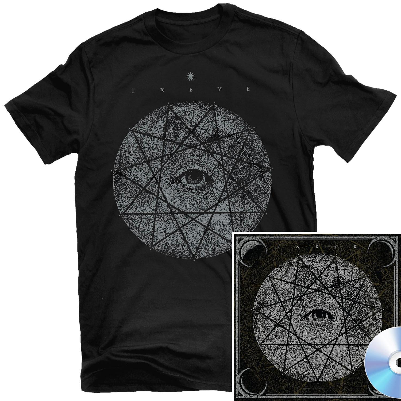 Ex Eye T Shirt + CD Bundle