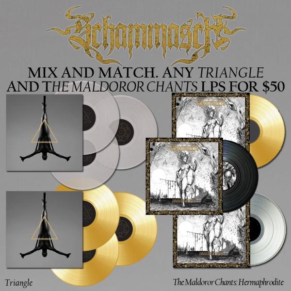 The Maldoror Chants: Hermaphrodite + Triangle LP Bundle