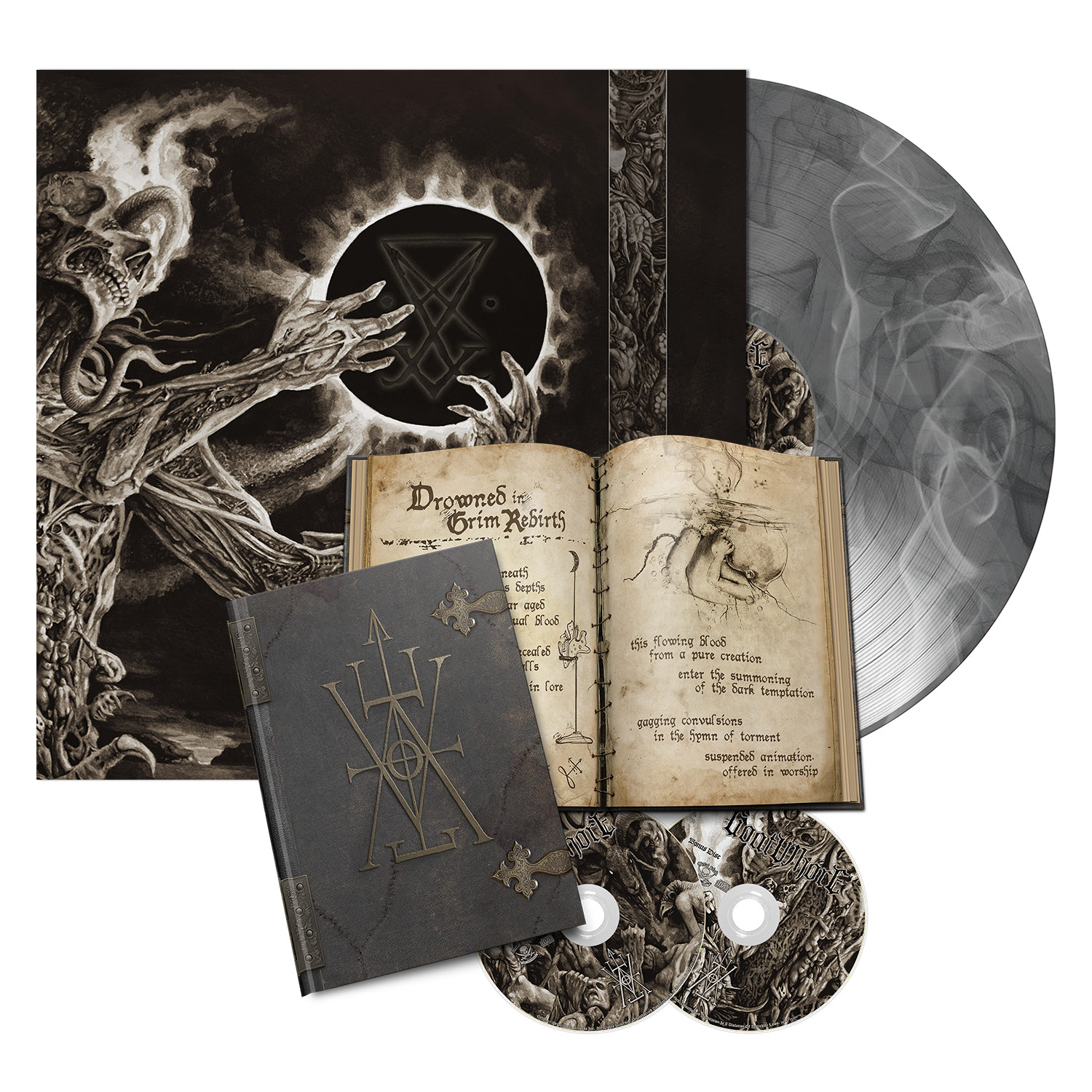 Vengeful Ascension - Spell Book/LP Bundle