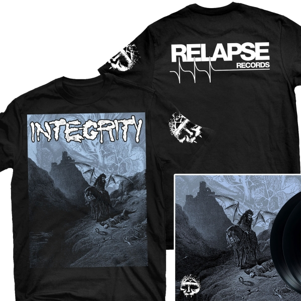 Howling, For The Nightmare Shall Consume T Shirt + 2LP Bundle