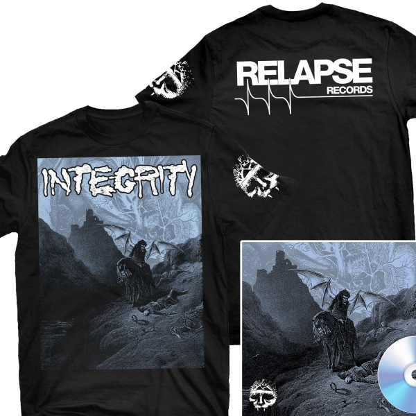 Howling, For The Nightmare Shall Consume T Shirt + CD Bundle