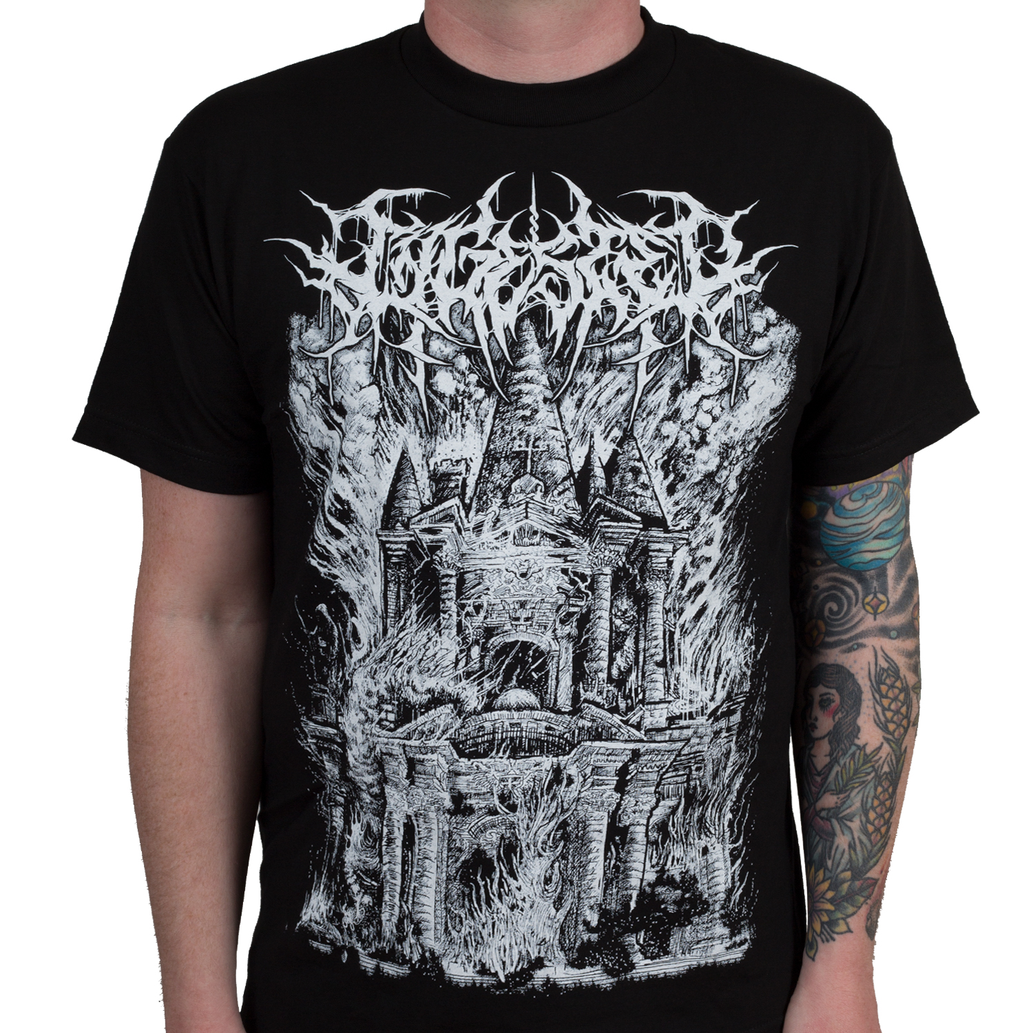 ingested slam metal t shirt indiemerchstore. Black Bedroom Furniture Sets. Home Design Ideas