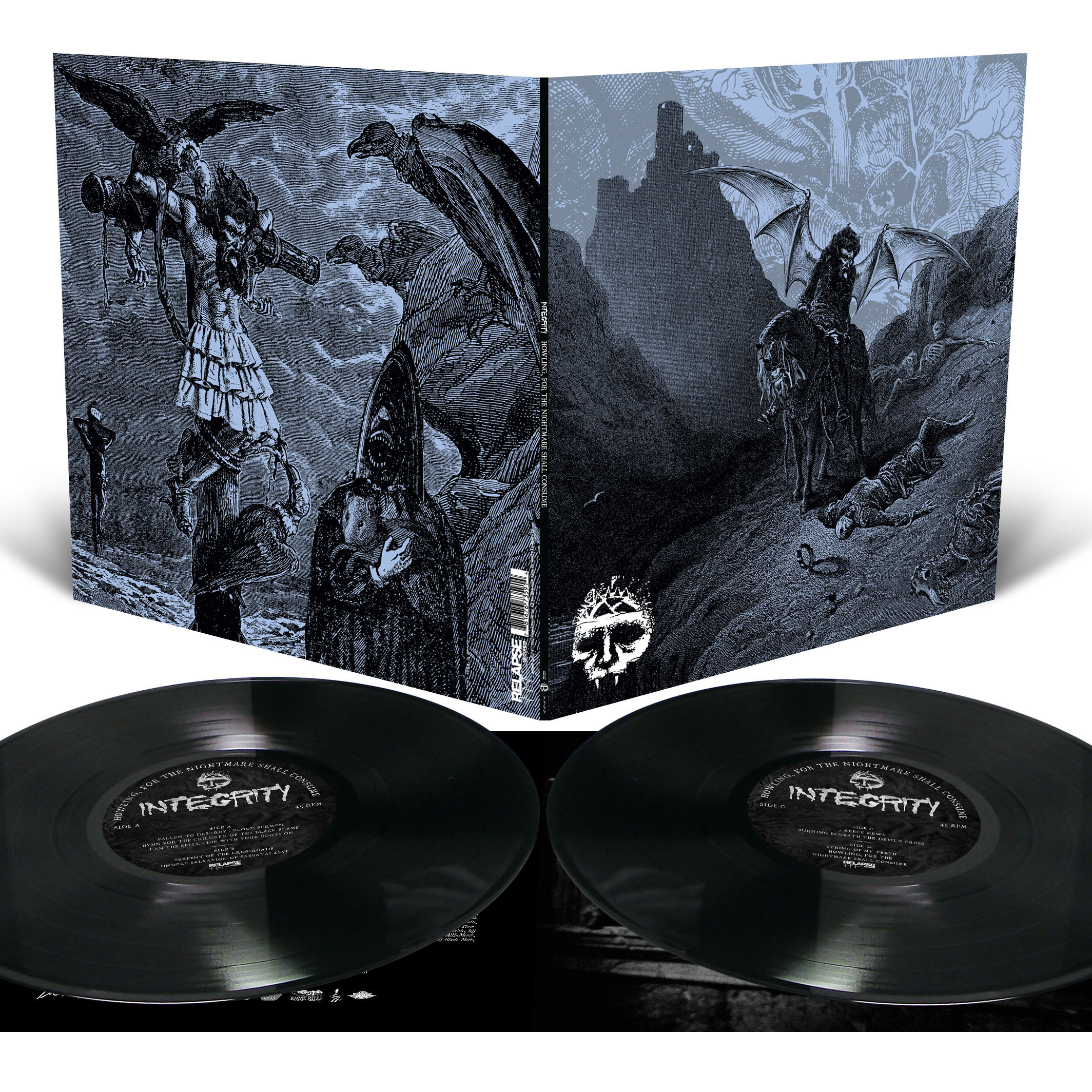Howling, For The Nightmare Shall Consume Long Sleeve Shirt + 2LP Bundle