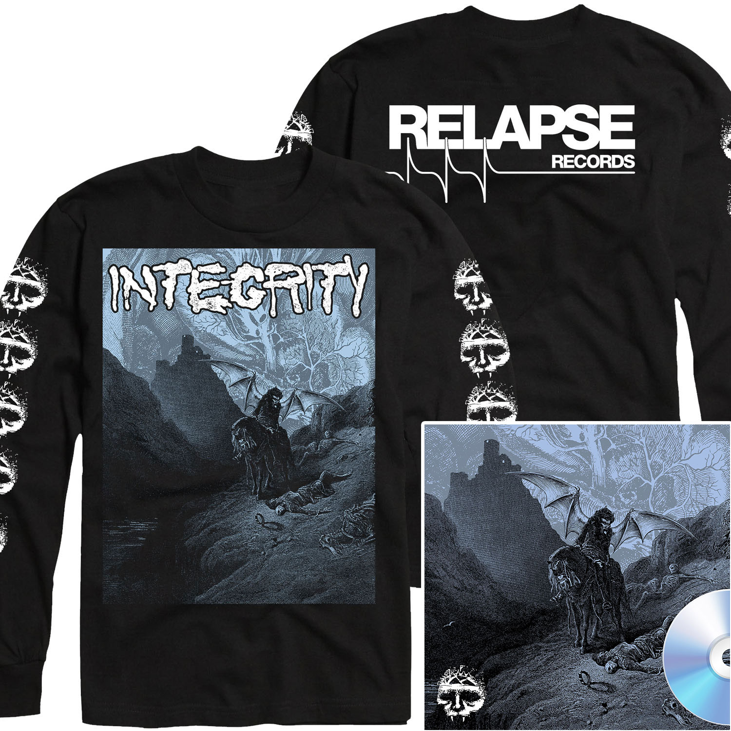 Howling, For The Nightmare Shall Consume Long Sleeve Shirt + CD Bundle