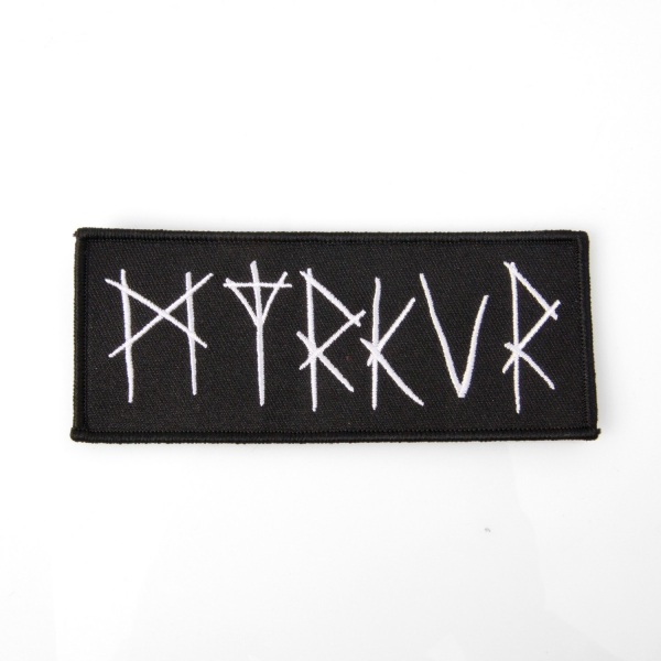 "Myrkur ""Myrkur Logo"" Patch - All Independent Service Alliance"