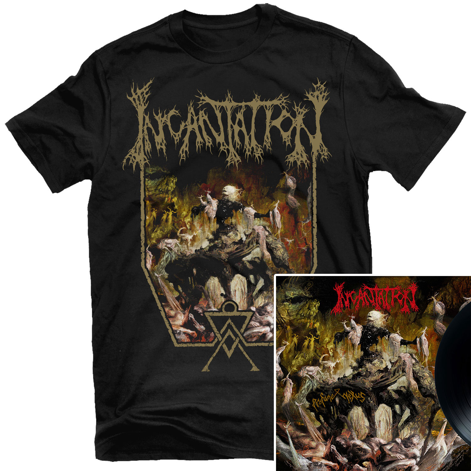 Profane Nexus T Shirt + LP Bundle