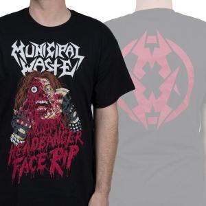 Headbanger Face Rip