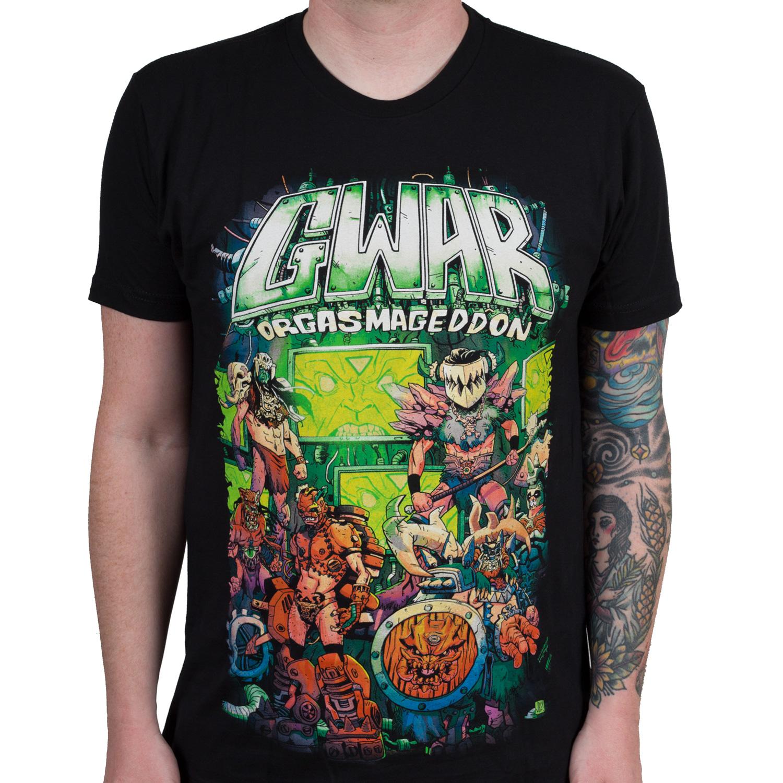 """Gwar """"Orgasmaggedon"""" T-Shirt - Gwar"""
