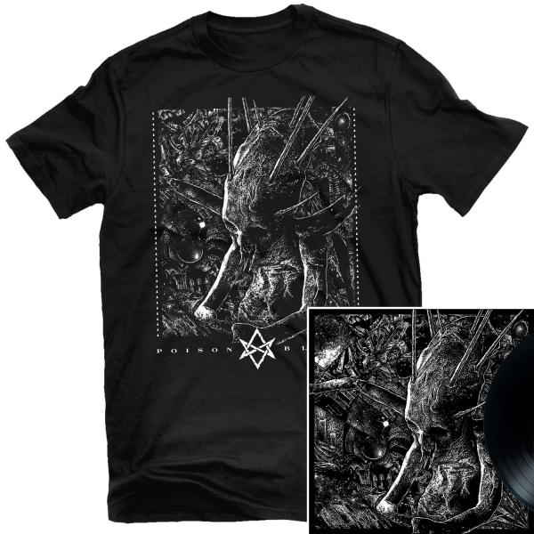 Poison Blood T Shirt + LP Bundle