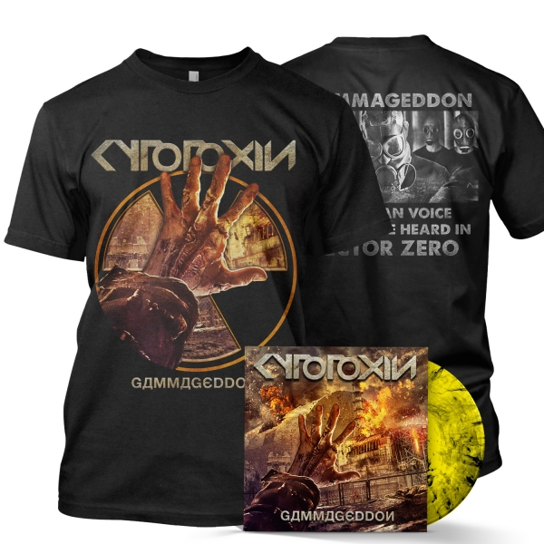 Gammageddon LP + Tee Bundle