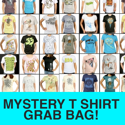 Mystery T Shirt Grab Bag (Includes 3 T-shirts)