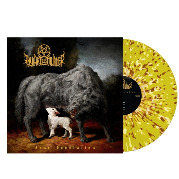 Dear Desolation (Yellow White Blood Splatter)