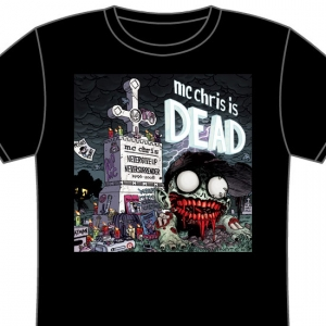 mc chris is dead shirt (color)