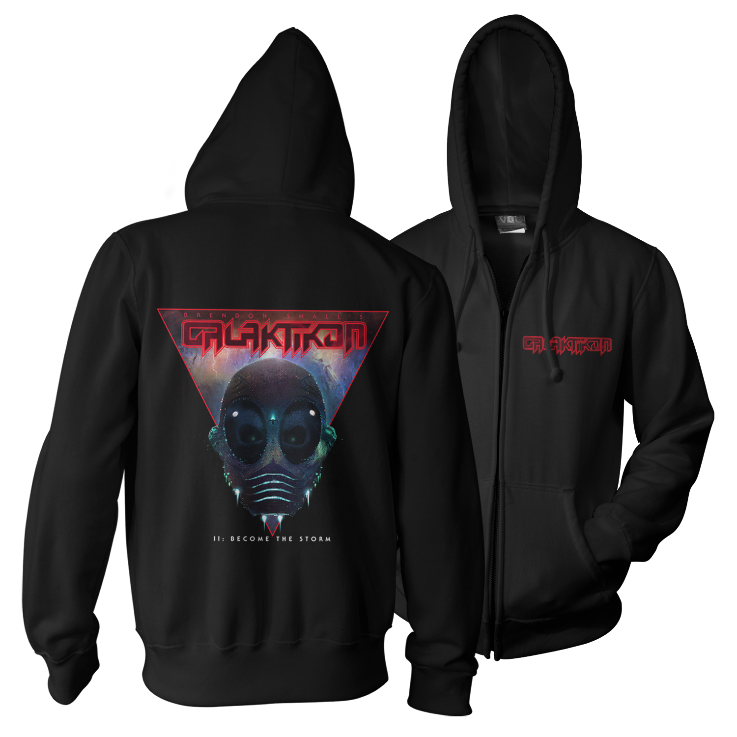 II: Become The Storm 2xLP + Hoodie Bundle