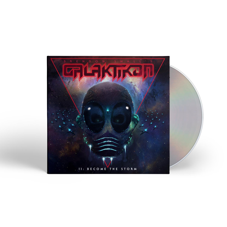 II: Become The Storm CD + Tee Bundle
