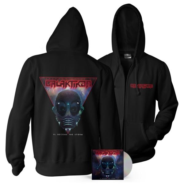 II: Become The Storm CD + Hoodie Bundle