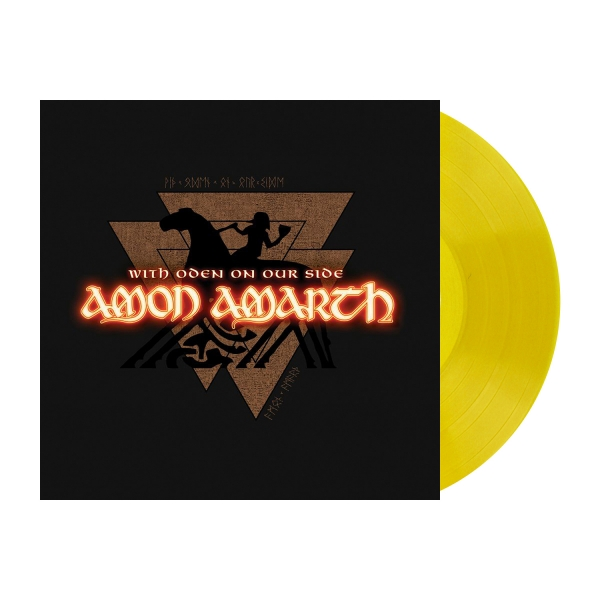 With Oden on Our Side - Yellow LP