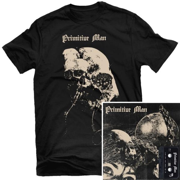 Caustic T Shirt + Cassette Bundle