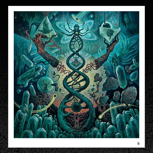 Axis Mundi dan seagrave decrepit birth axis mundi album cover prints dan