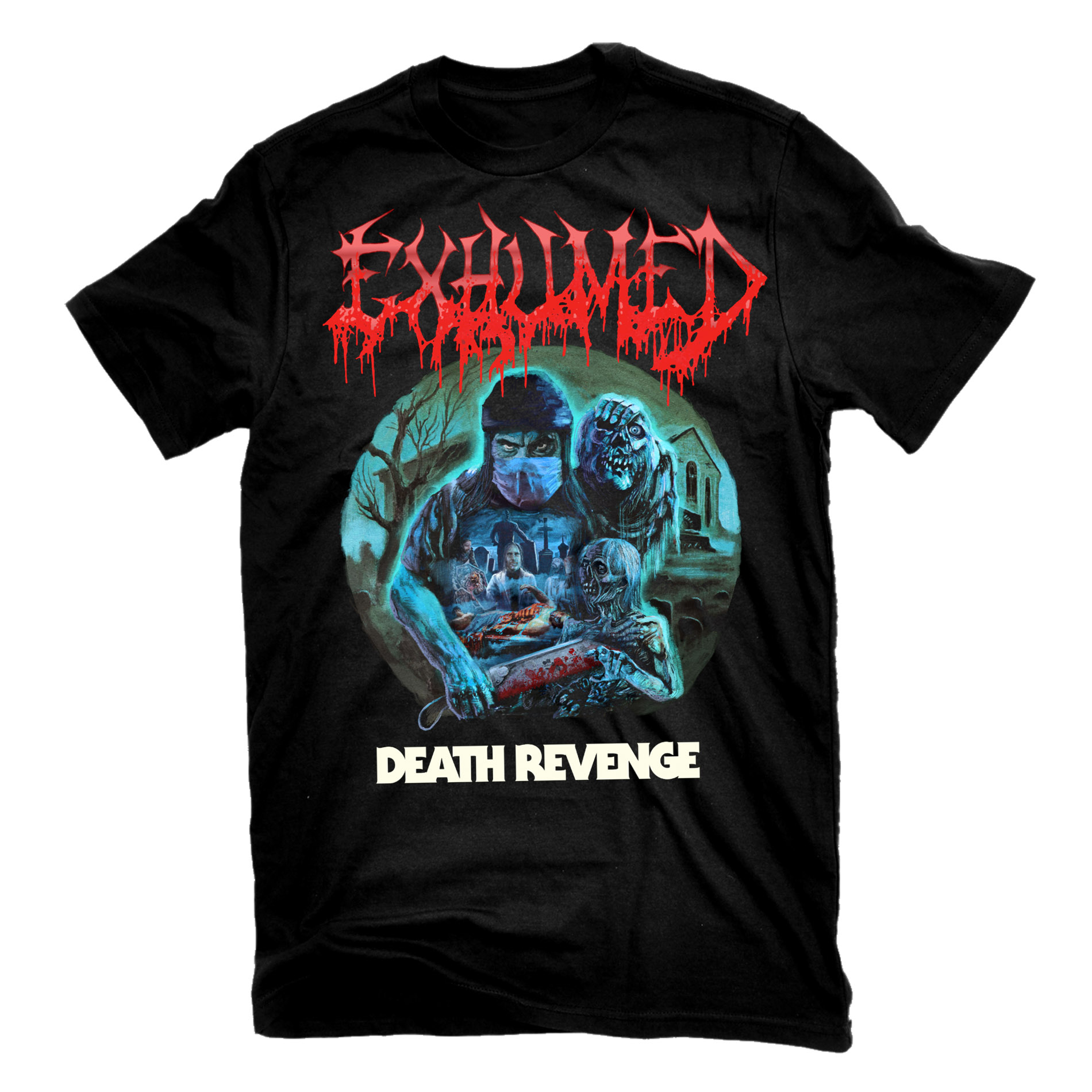 Death Revenge T Shirt + CD Bundle
