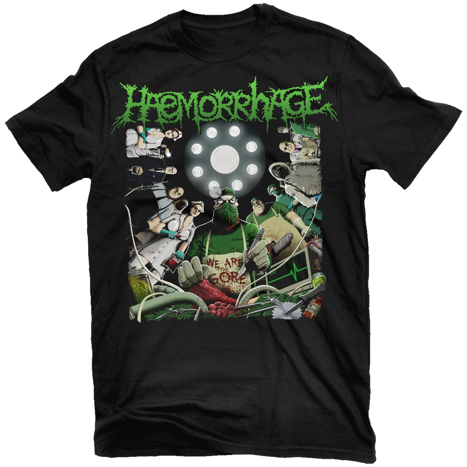 We Are The Gore T Shirt + CD Bundle