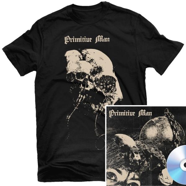 Caustic T Shirt + CD Bundle