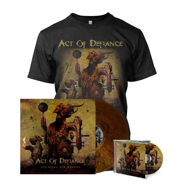 Old Scars, New Wounds - Deluxe Album Bundle