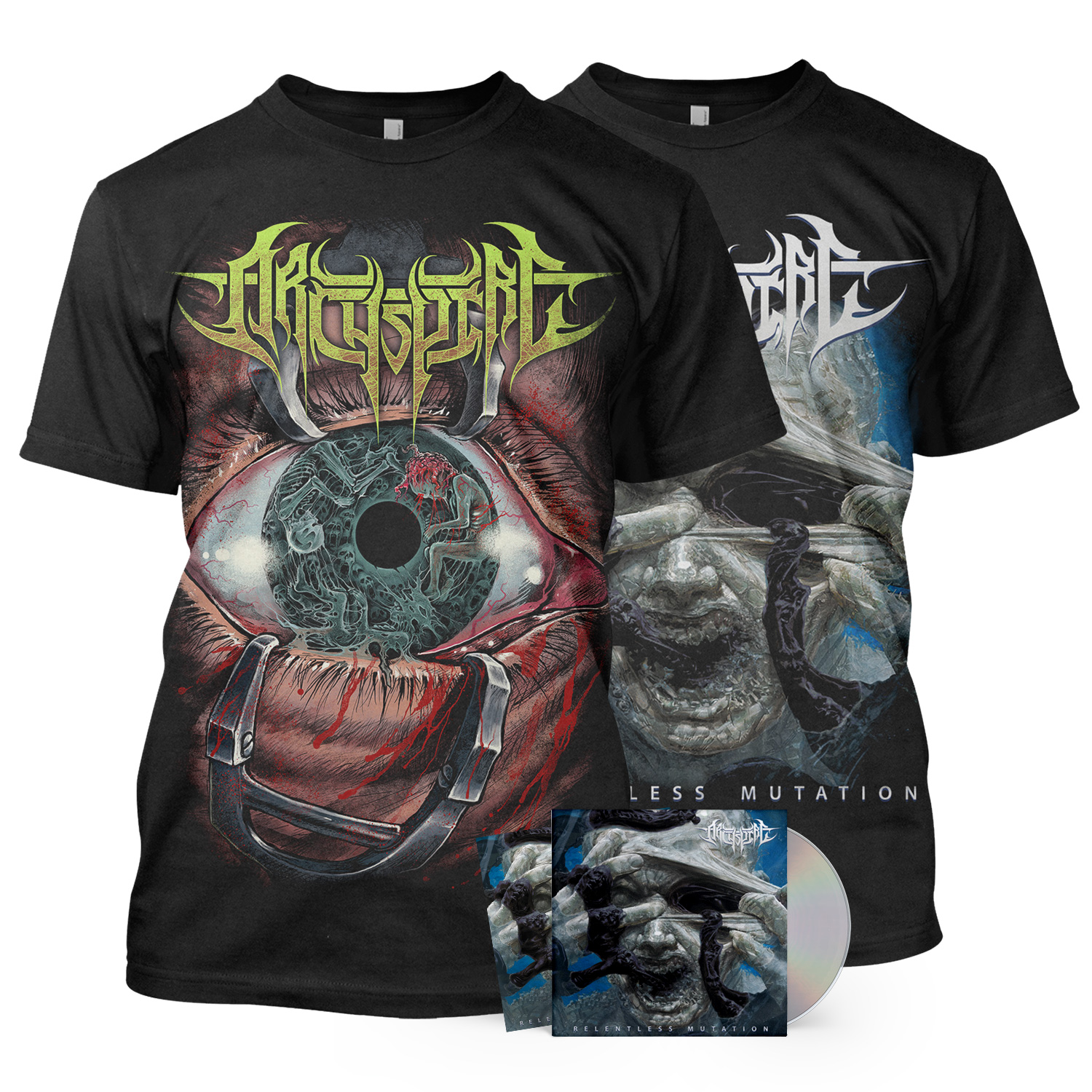 Two Tee/CD Bundle