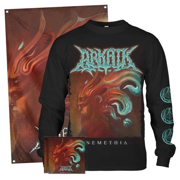Nemethia CD + Longsleeve Bundle