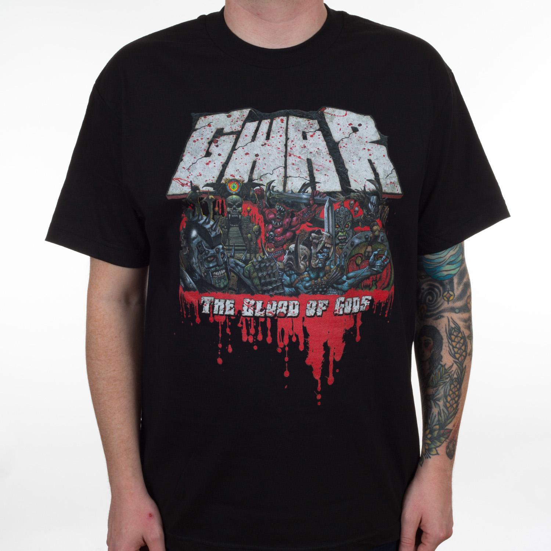 "Gwar ""The Blood of Gods"" T-Shirt - Metal Blade Records"
