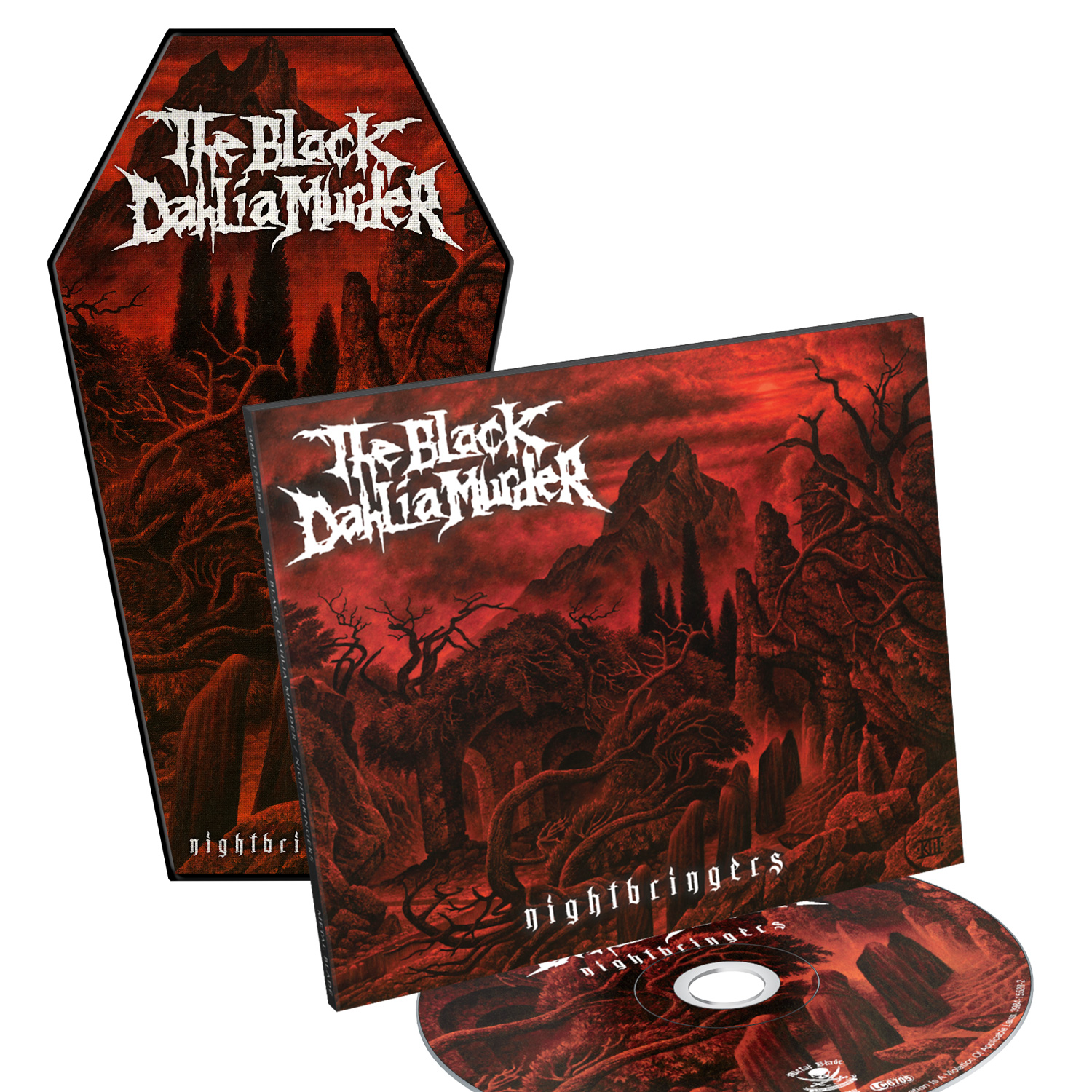 Nightbringers CD + Patch Bundle