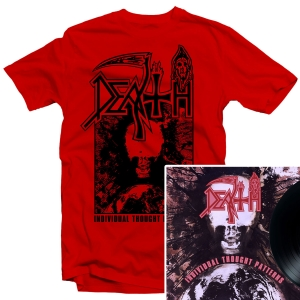 Individual Thought Patterns T Shirt (Red) + LP Reissue Bundle