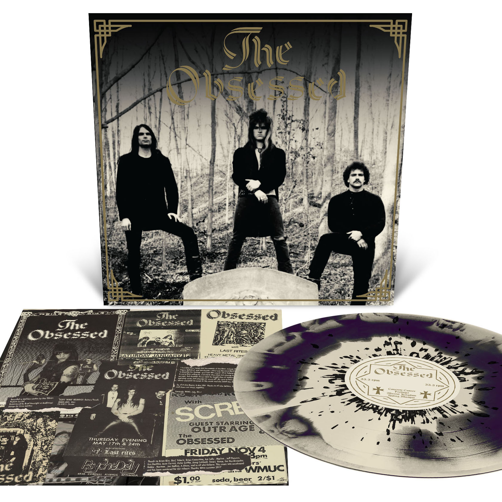 The Obsessed (Reissue) LP + Demo (Reissue) LP Bundle