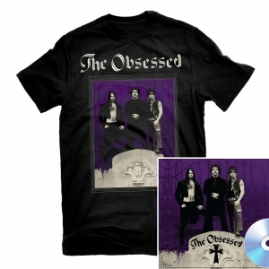 The Obsessed T Shirt + 2CD Reissue Bundle