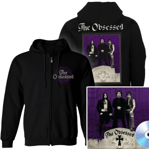 The Obsessed Zip Up Hoodie + 2CD Reissue Bundle