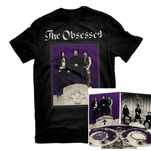 The Obsessed T Shirt + The Obsessed (Reissue) LP + Demo (Reissue) LP Bundle