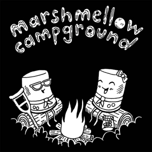 marshmellow campground decal