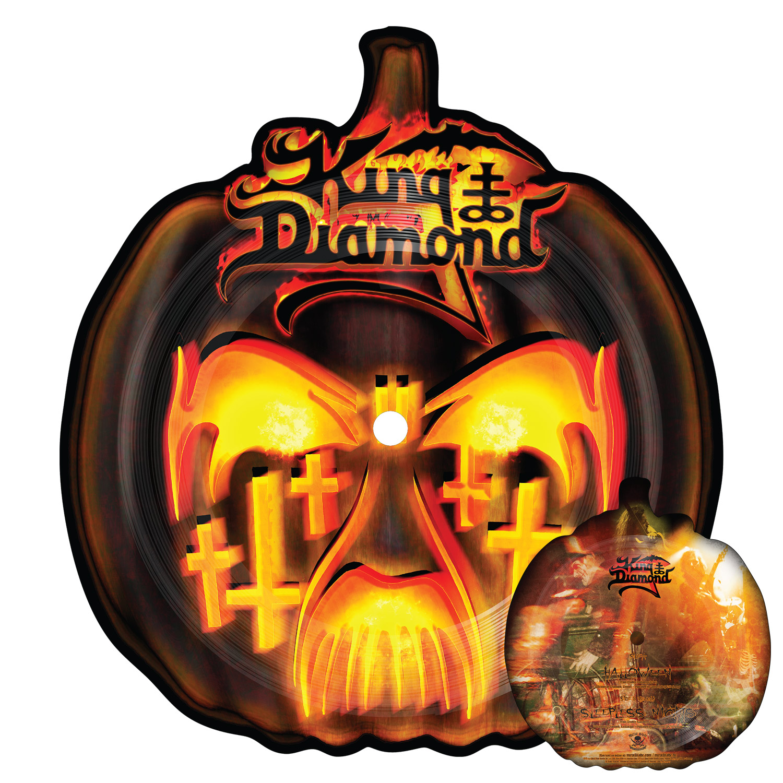 "king diamond ""halloween live"" 10"" - metal blade records"