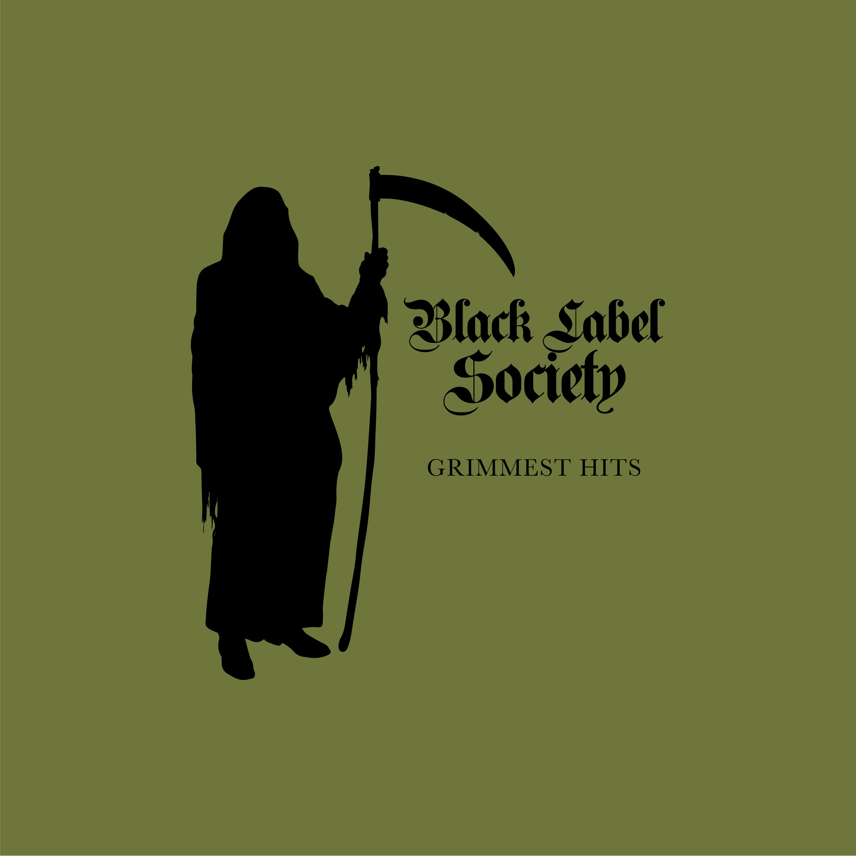 Book Cover Black Label ~ Black label society quot grimmest hits cd w signed booklet