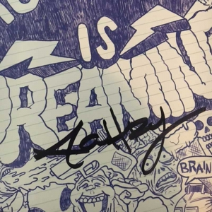 mc chris is dreaming LP (signed)