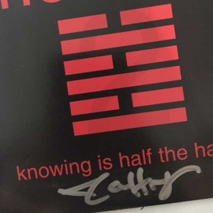 knowing is half the hassle (signed)