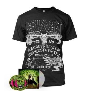 CD/Patch/Sticker/Ouija Board tee Bundle